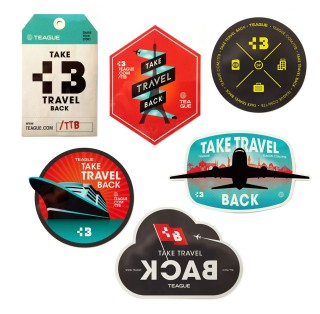 Take Travel Back Stickers